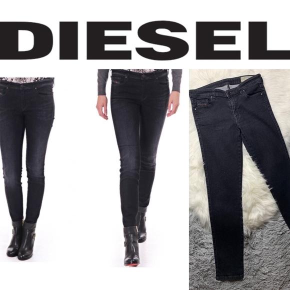 Diesel Denim - Diesel Doris Super Slim Skinny Regular waist Jeans